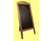 Πίνακας μενού Γίγας ξύλινος μονός διαστ. 77x152 cm ύψος