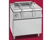 Aυτόματο ανατρεπόμενο τηγάνι αερίου με ατσάλινο κάδο διαστ.800x900x900 mm GIORIK