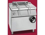 Ανατρεπόμενο χειροκίνητο τηγάνι αερίου με ατσάλινο κάδο διαστ.800x900x900 mmGIORIK