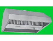 Χοάνη - Φούσκα απορρόφησης οσμών διπλής όψεως διαστ. 150x110x60 cm