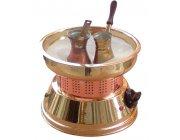 Χόβολη Ελληνικού καφέ ηλεκτρική ΜΙΝΙ  Ε2009