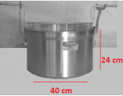 Φριτούρα αλουμινίου  ΜΑΤ 30,1 lt