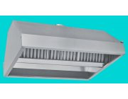Χοάνη - Φούσκα  απορρόφησης οσμών κέντρου οροφής διαστ. 300x110x60 cm