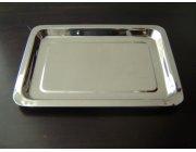 Δίσκος σερβιρίσματος ανοξείδωτος διαστ. 41,5x29 cm