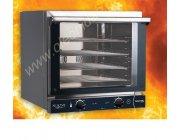Φούρνος Ηλεκτρικός Αερόθερμος Nerone 595-4 4TG (4 λαμαρίνες 44x35) διαστ.58,9x66,3x58 cm