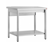 Λυόμενο τραπέζι εργασίας με ράφι  διαστ. 90x70x87 cm