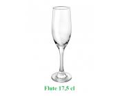 Ποτήρι flute 17,5 cl σχέδιο Ducale