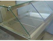 Ψυγείο βιτρίνα προβολής ψαριών διαστ. 94x85x123 cm