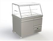 Ψυγείο γλυκών με ανακυκλούμενο αέρα στην βιτρίνα διαστ.107x84x130 cm ύψος (VR-108-A