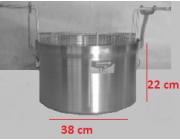 Φριτούρα αλουμινίου  ΜΑΤ 24,9 lt