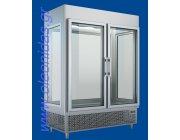 Ψυγείο θάλαμος βιτρίνα συντήρηση με τσιγκέλια διαστ.160x80x220 cm ύψος UBK160