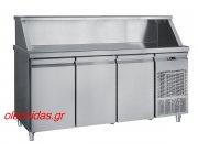 Ψυγείο Bar με 3 πόρτες διαστ. 180x70x118 cm ύψος ΜΜ180