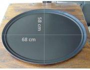 Δίσκος σερβιρίσματος αντιολισθητικός οβάλ διαστ. 68x58 cm